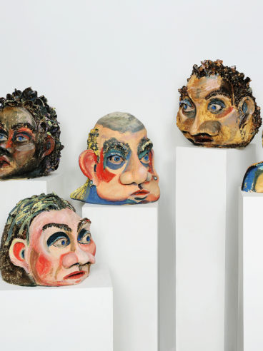 Who Are We, installation, Ceramic, various sizes, 2018